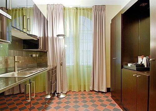 property Suite curtain material flooring tiled