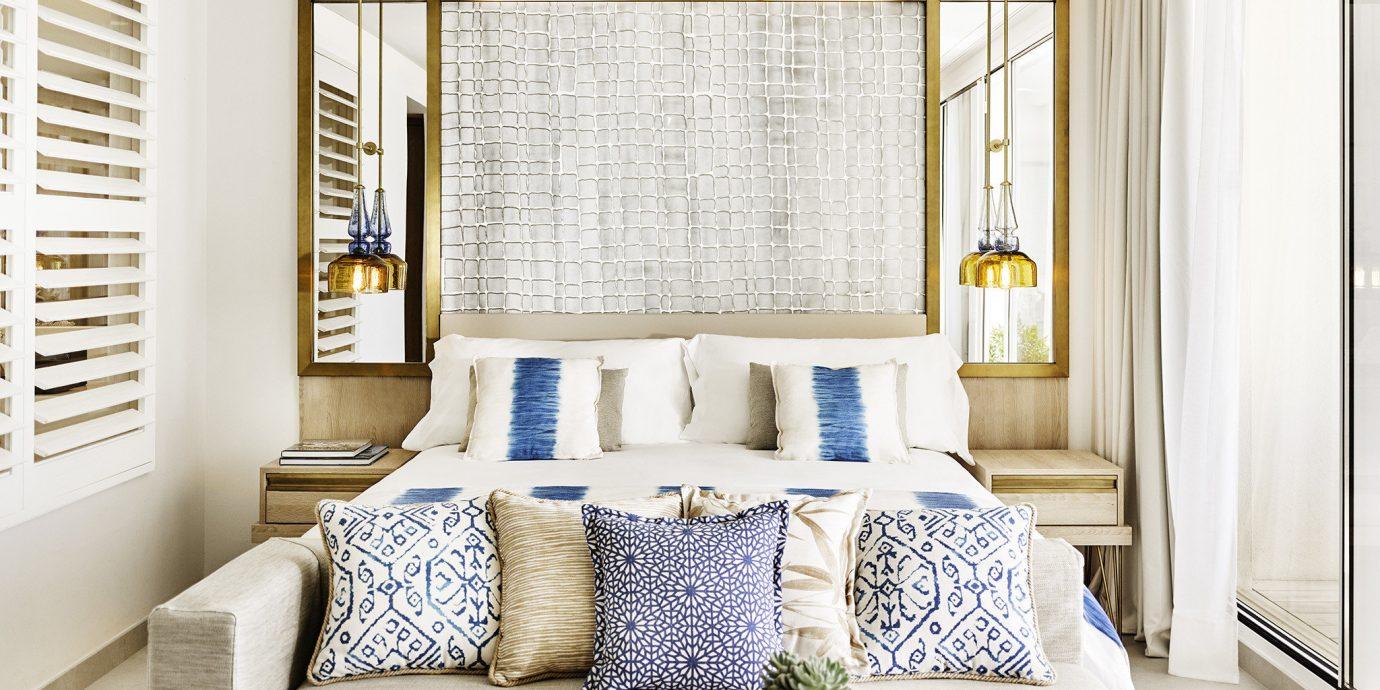 living room home window treatment white curtain interior designer pillow Suite