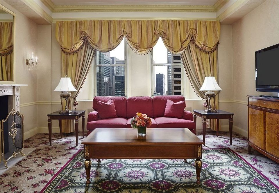 property living room Suite curtain home window treatment mansion