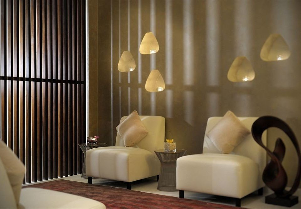 living room Suite lighting curtain