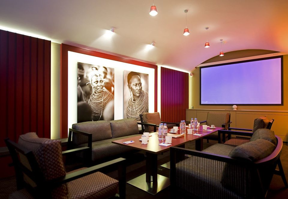 red Suite living room restaurant function hall