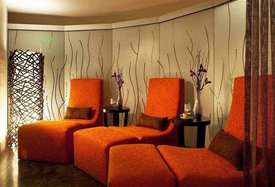 living room Suite lamp orange