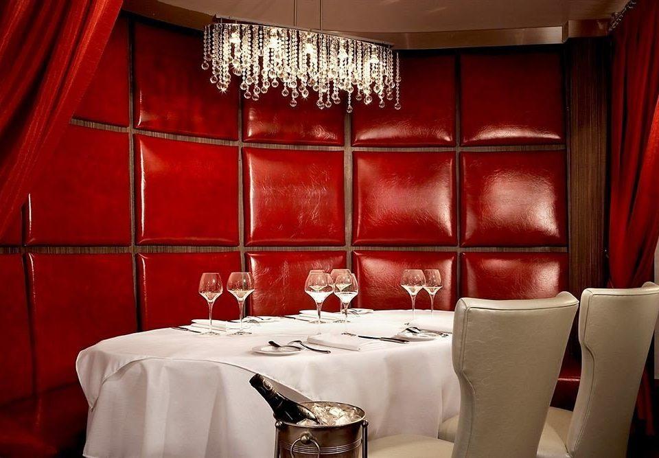 red restaurant Suite living room