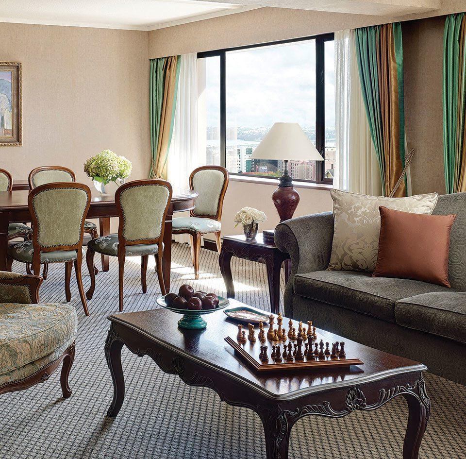 chair property living room Suite home curtain condominium cottage Villa arranged