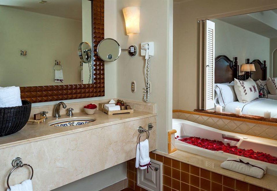 bathroom property sink home cottage counter Suite Villa