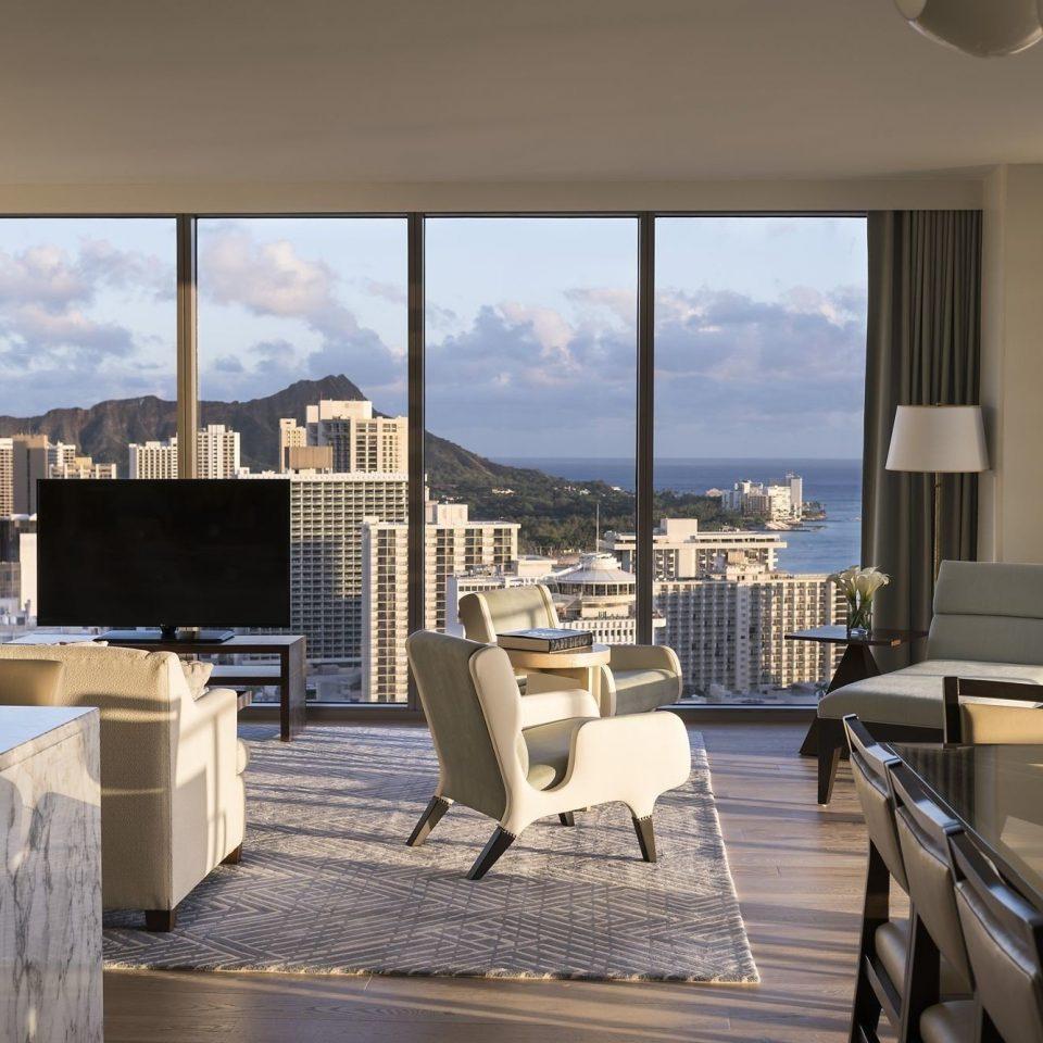 property condominium chair living room home Villa overlooking Suite