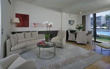 property condominium living room Villa home cottage Suite
