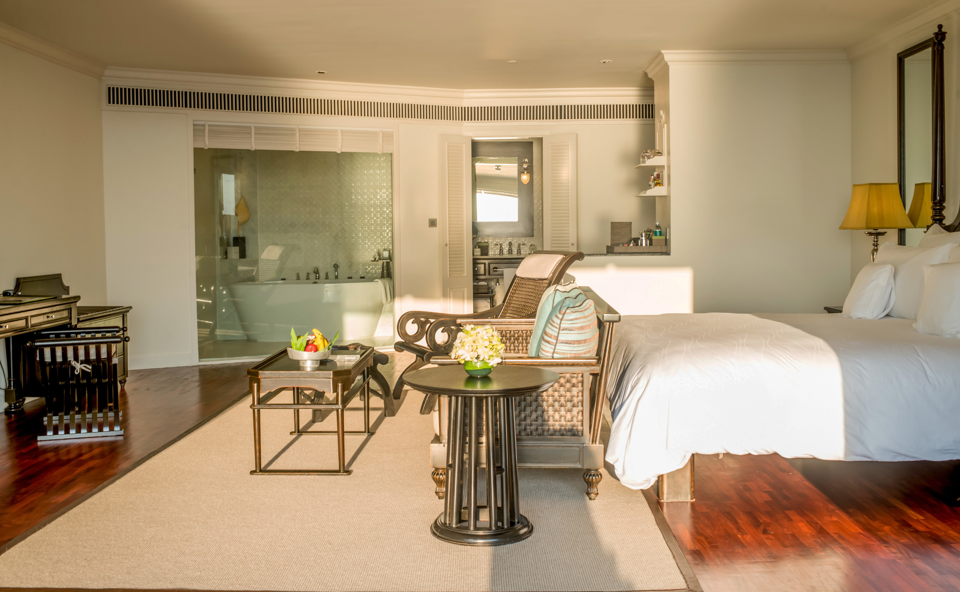 property home living room hardwood Villa condominium Suite cottage wood flooring flooring