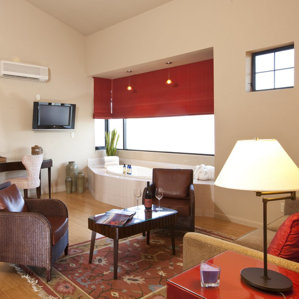 property living room Suite home cottage condominium Villa lamp leather