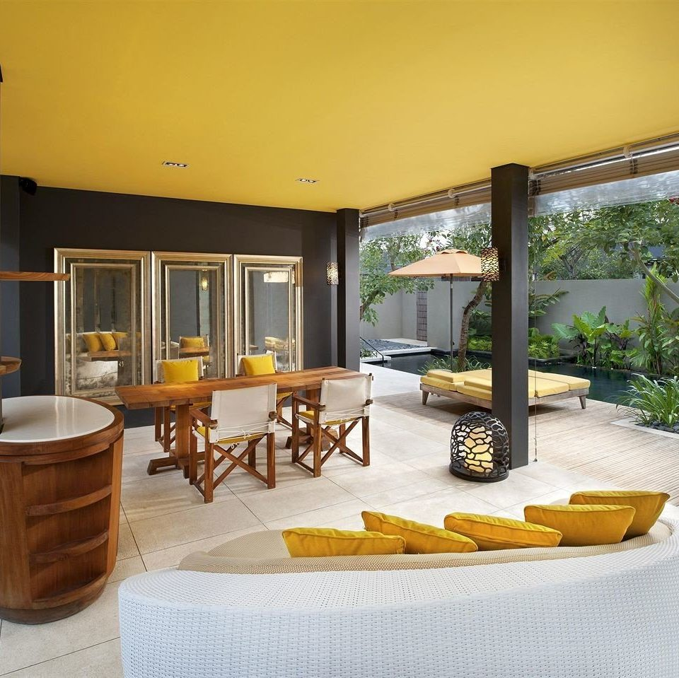 property living room home yellow condominium hardwood Villa Suite cottage