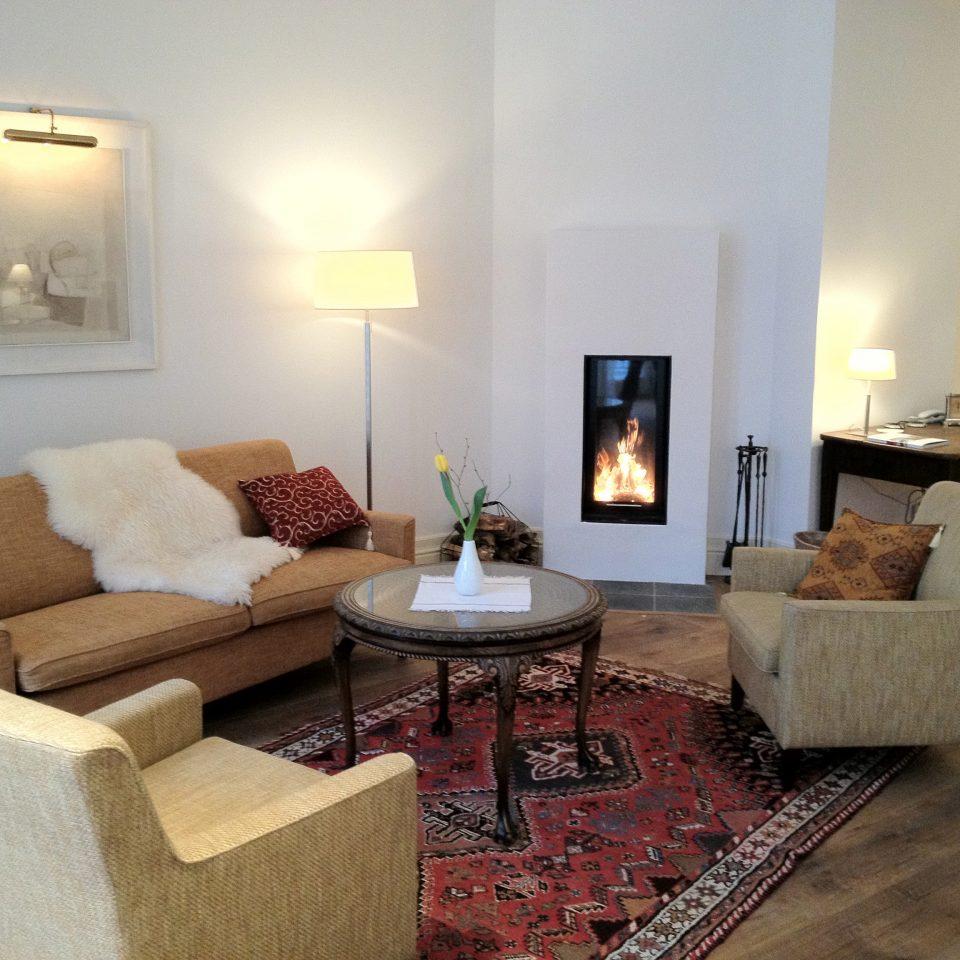 living room property home hardwood cottage Suite Villa hearth wood flooring
