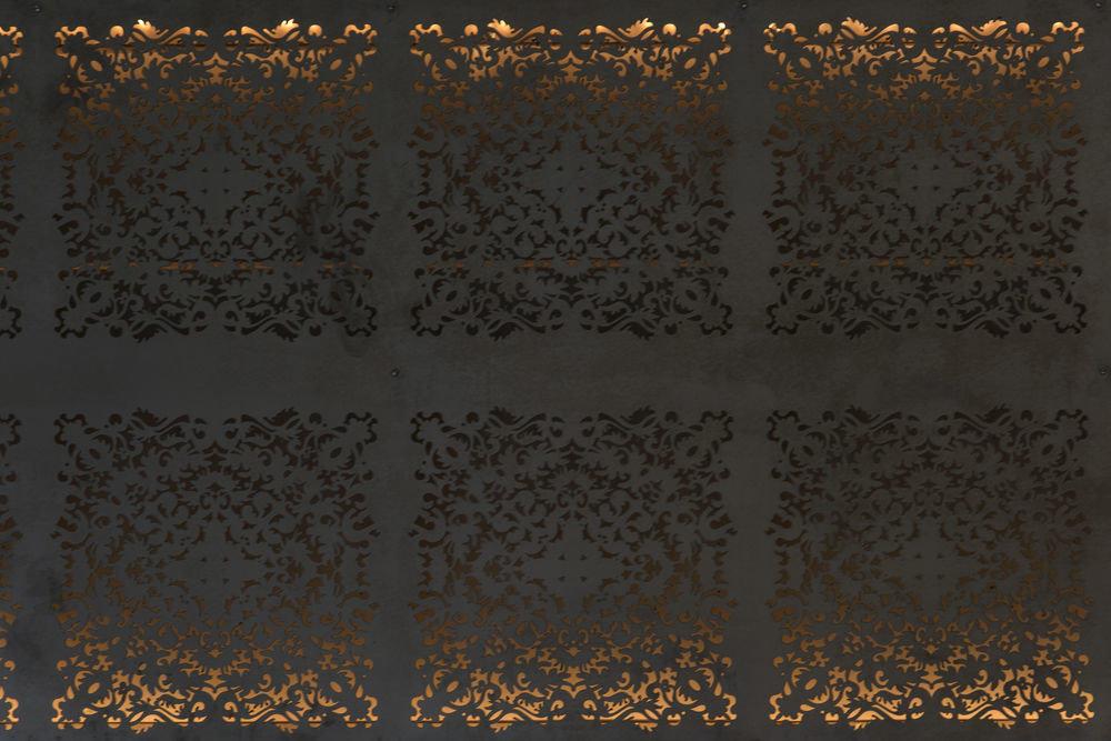 text pattern font Sun texture Sunset art circle textile wallpaper modern art line material