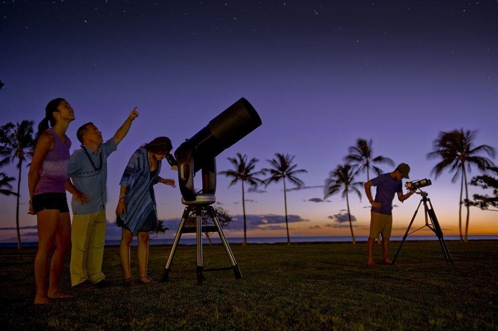grass sky night evening screenshot telescope Sunset arm