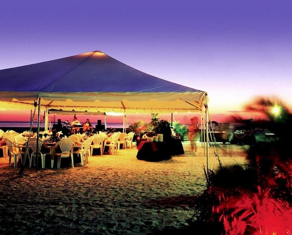 sky tent outdoor object evening dusk Sunset sandy day
