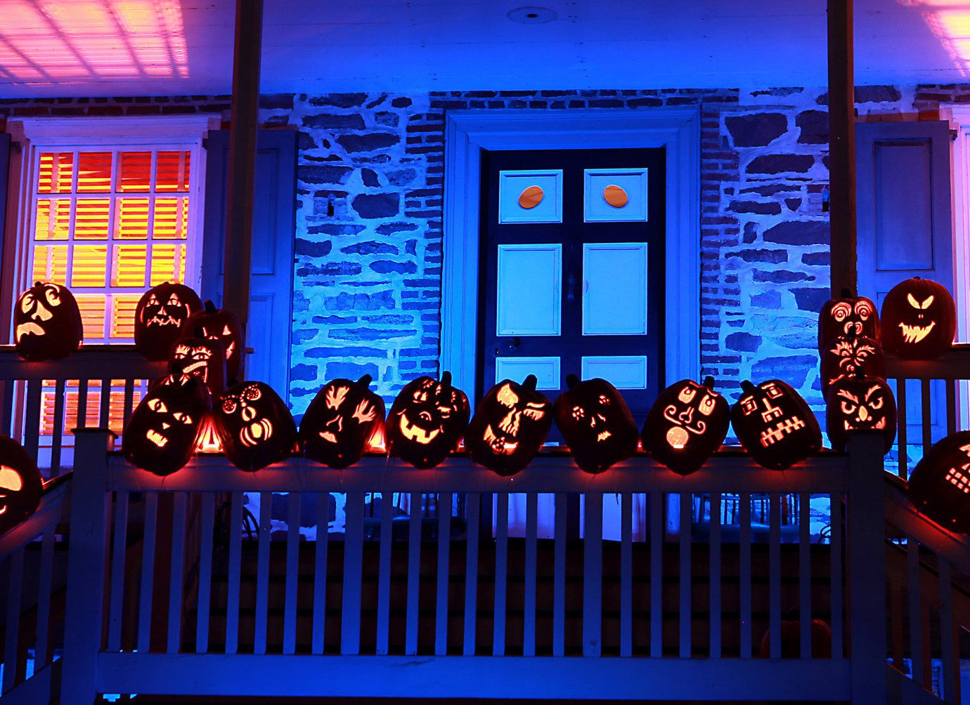 activities art festive halloween lights night pumpkins Trip Ideas stage musical theatre audience auditorium window
