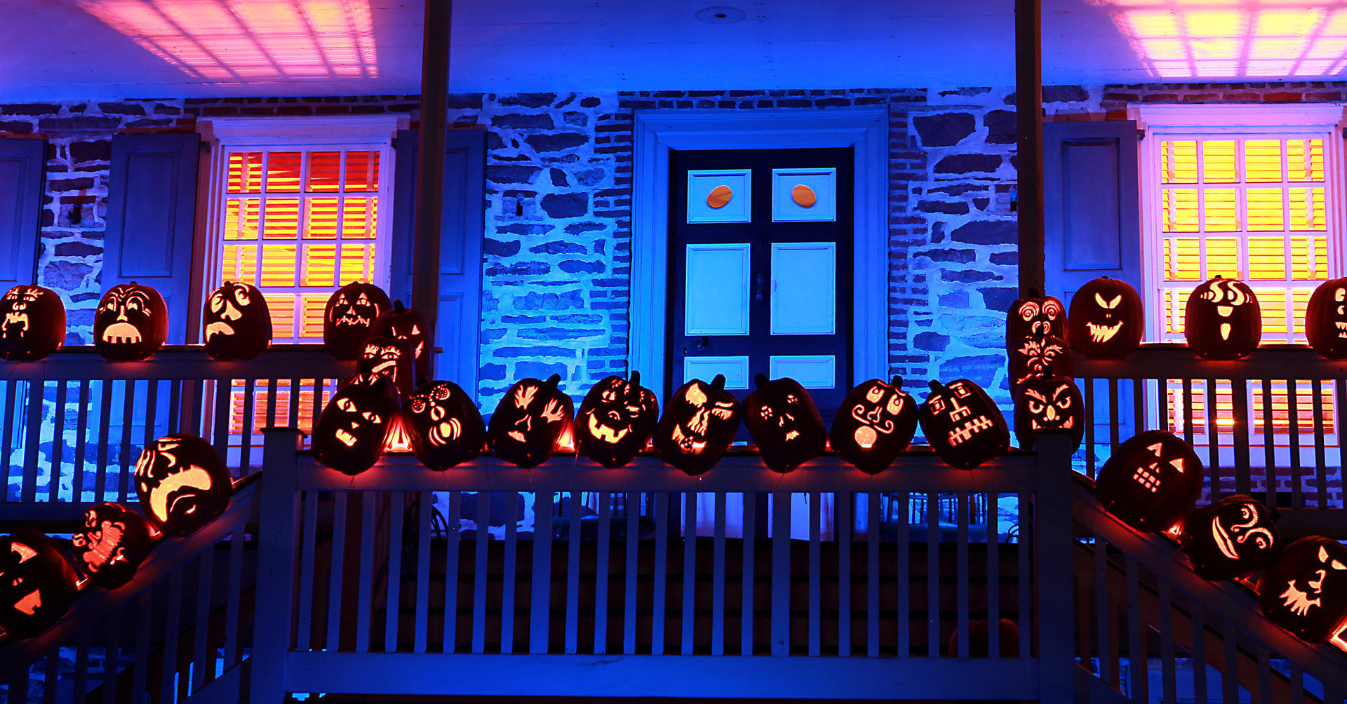 activities art festive halloween lights night pumpkins Trip Ideas stage musical theatre audience auditorium window