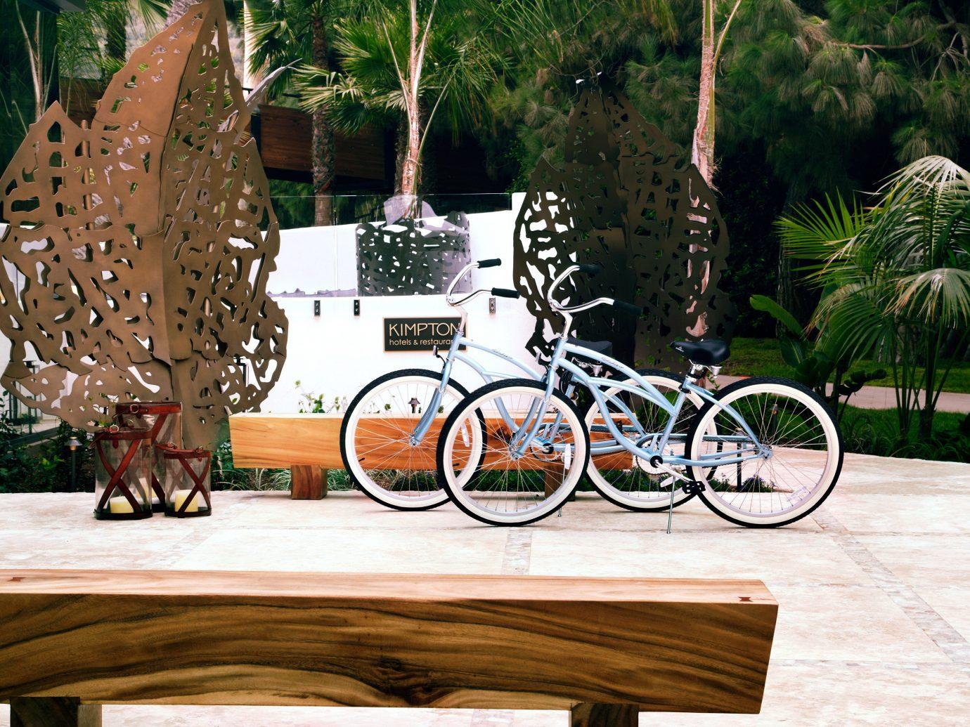 Bicylces Outside Hotel La Jolla In San Diego, Ca