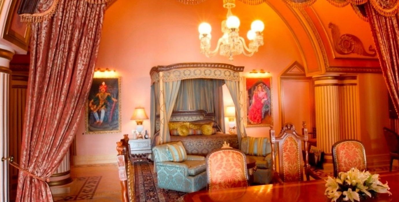 Hotels Luxury Travel indoor Living room wall floor property curtain interior design home decorated furniture Suite living room estate chapel real estate function hall ceiling dining room hacienda fancy colorful
