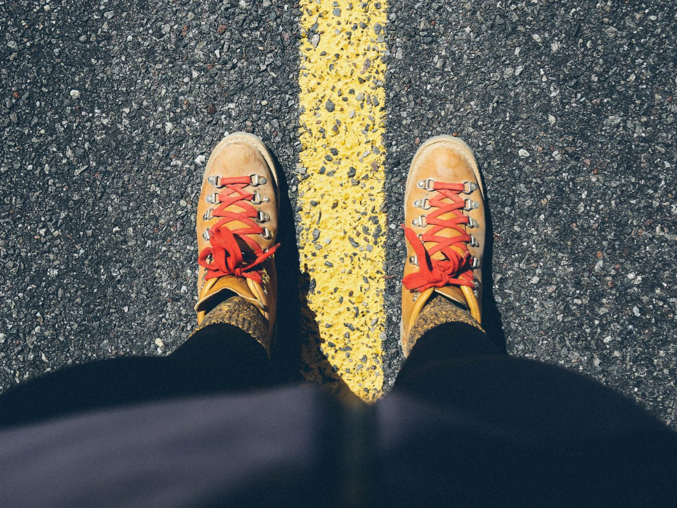 Influencers + Tastemakers Jetsetter Guides Road Trips Travel Lifestyle color person black red yellow outdoor feet footwear art hand macro photography shoes