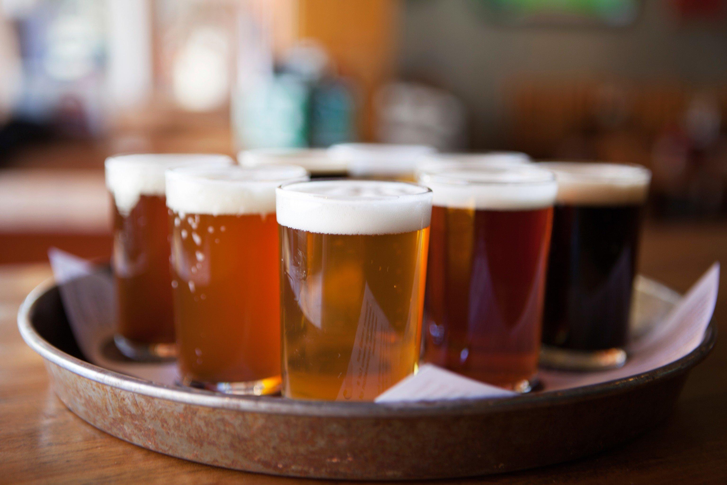 Trip Ideas cup table indoor beer Drink orange close