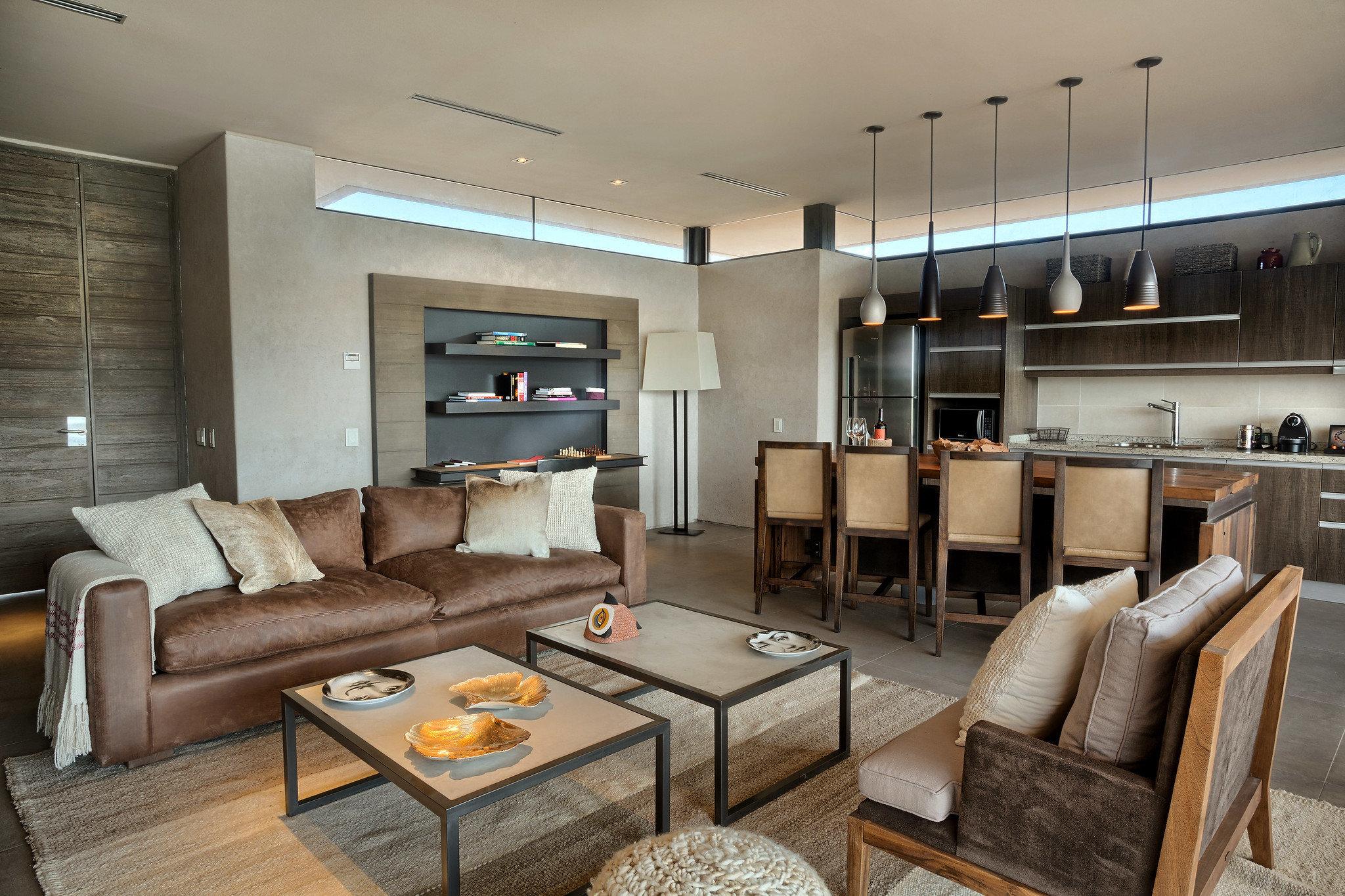 Food + Drink Hotels indoor room floor Living sofa living room interior design ceiling real estate furniture interior designer loft apartment leather area