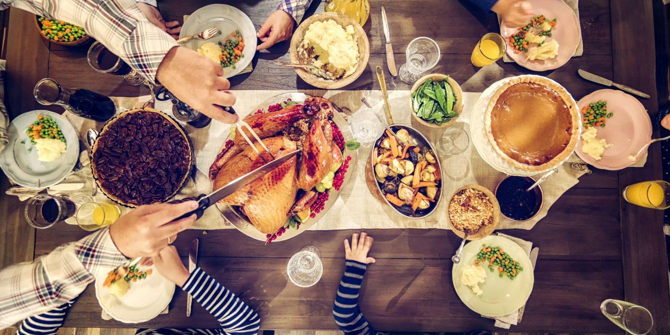 Food + Drink plate meal several