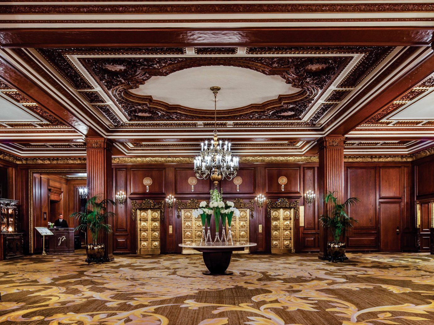 Hotels indoor Lobby building interior design ceiling estate function hall ballroom hall fancy