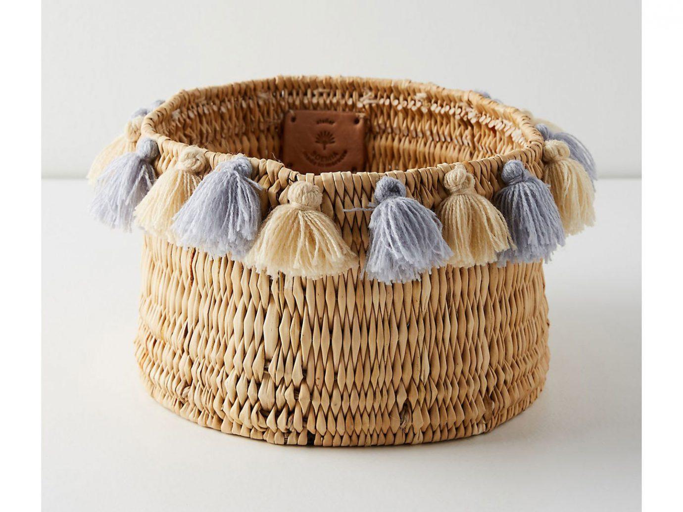 City Copenhagen Kyoto Marrakech Palm Springs Style + Design Travel Shop Tulum basket container wicker storage basket fabric