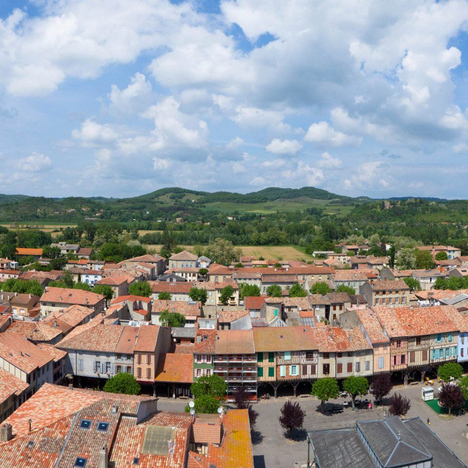 mountain sky Town historic site photography residential area Village cityscape panorama aerial photography roof day