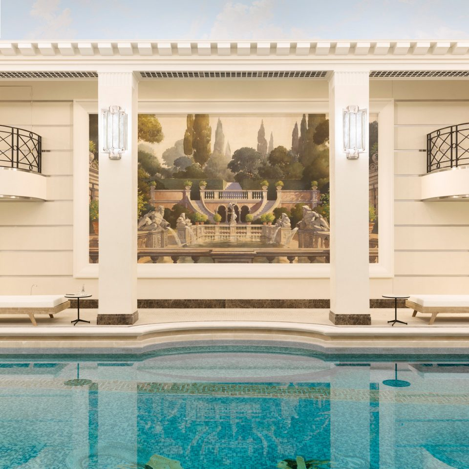 Trip Ideas swimming pool property building home mansion palace colonnade