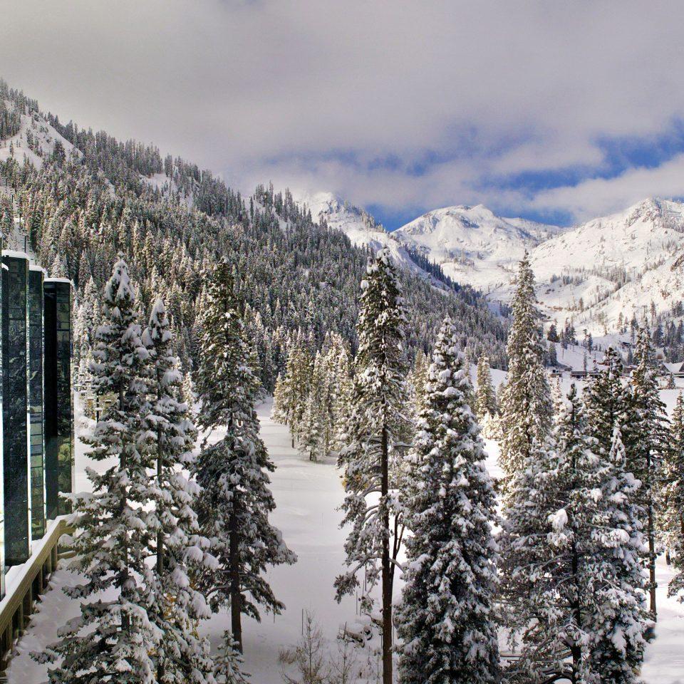 Trip Ideas snow sky Winter mountain weather tree covered season freezing mountain range frost ice slope day