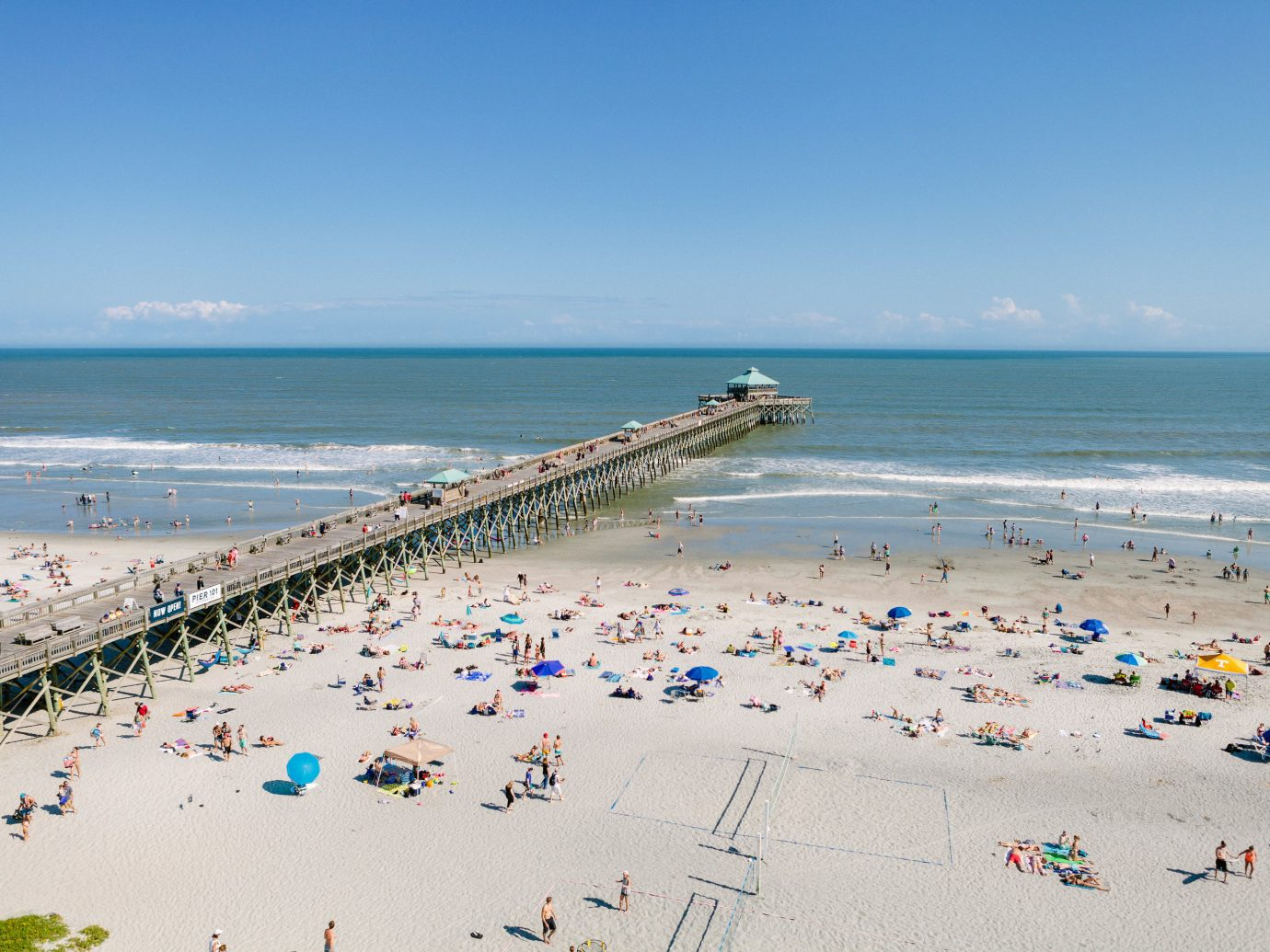 Trip Ideas sky outdoor water Beach ground Sea body of water shore Nature Coast coastal and oceanic landforms Ocean vacation horizon tourism sand people wave pier bay sandy day