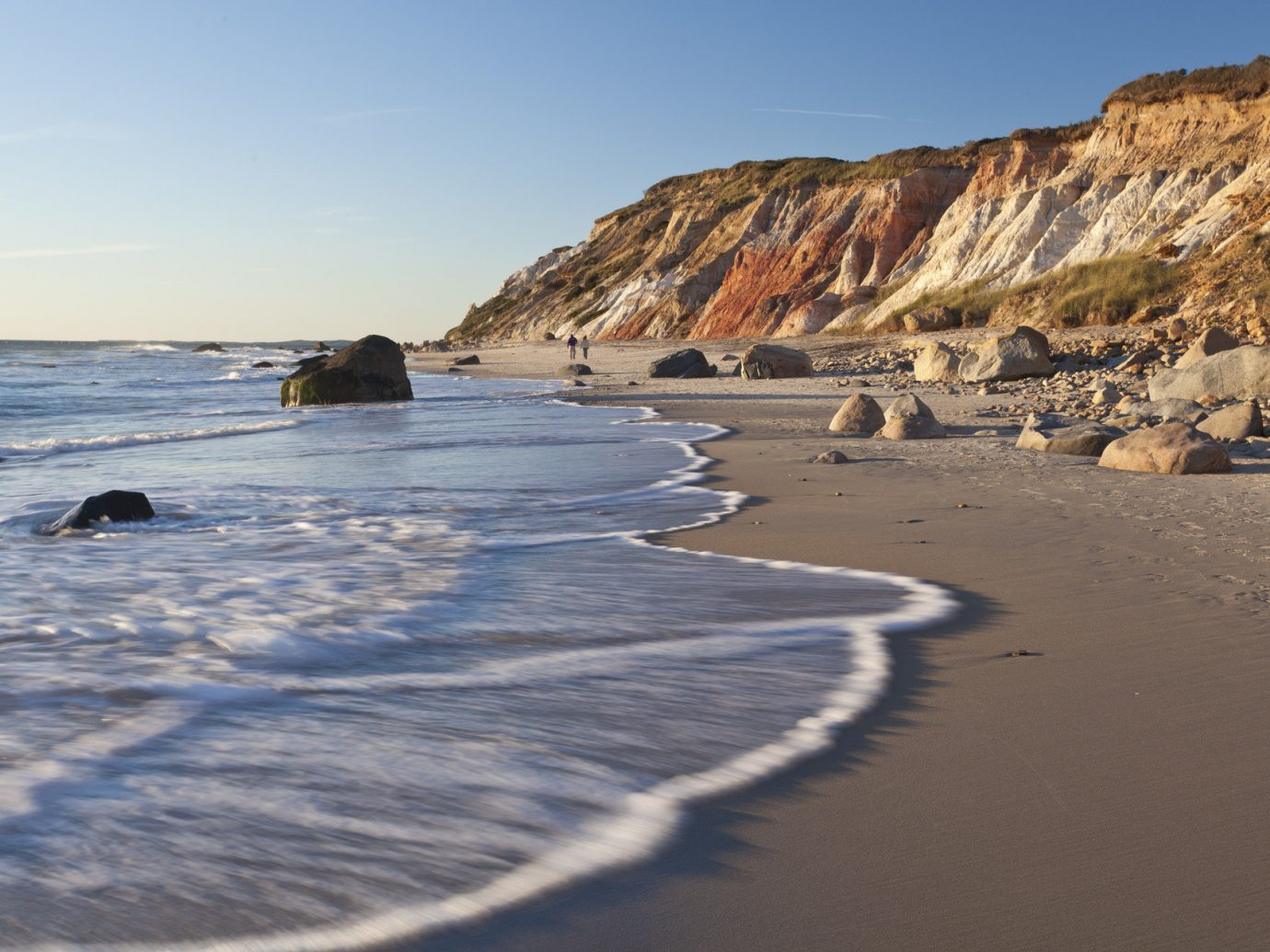 Trip Ideas sky outdoor water Nature mountain Beach Coast shore Sea body of water Ocean wave wind wave vacation sand bay cliff cape terrain cove ice day