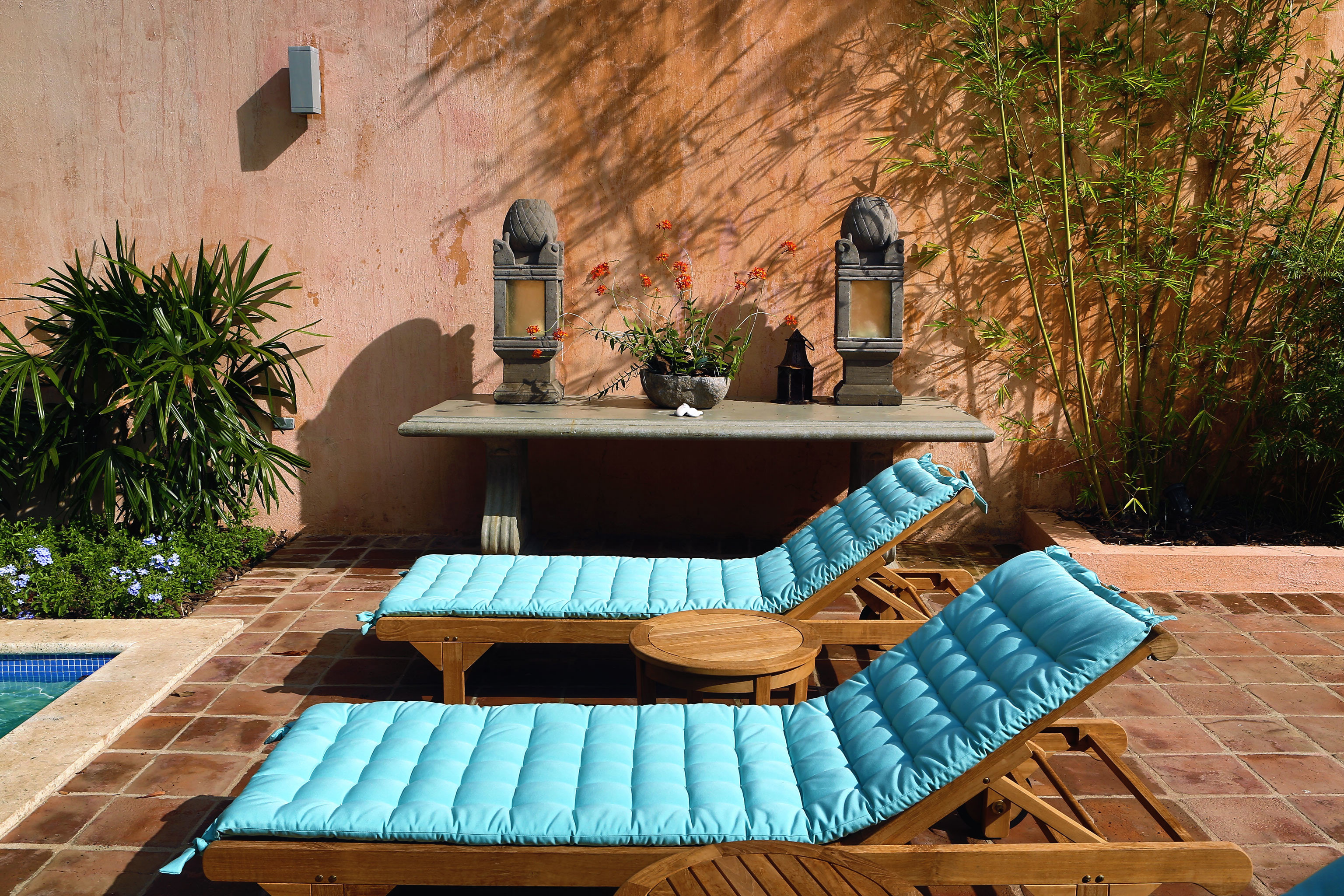 Boutique Cultural Historic Hotels Lounge Outdoors Patio Pool outdoor swimming pool property backyard wall estate outdoor structure home Courtyard Villa furniture yard cottage