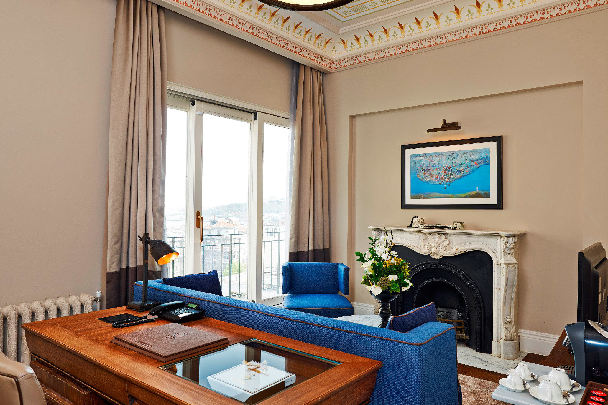 Boutique Hotels Hotels Luxury Travel indoor table wall room living room property Living home estate Suite interior design real estate cottage Villa condominium window window covering apartment furniture