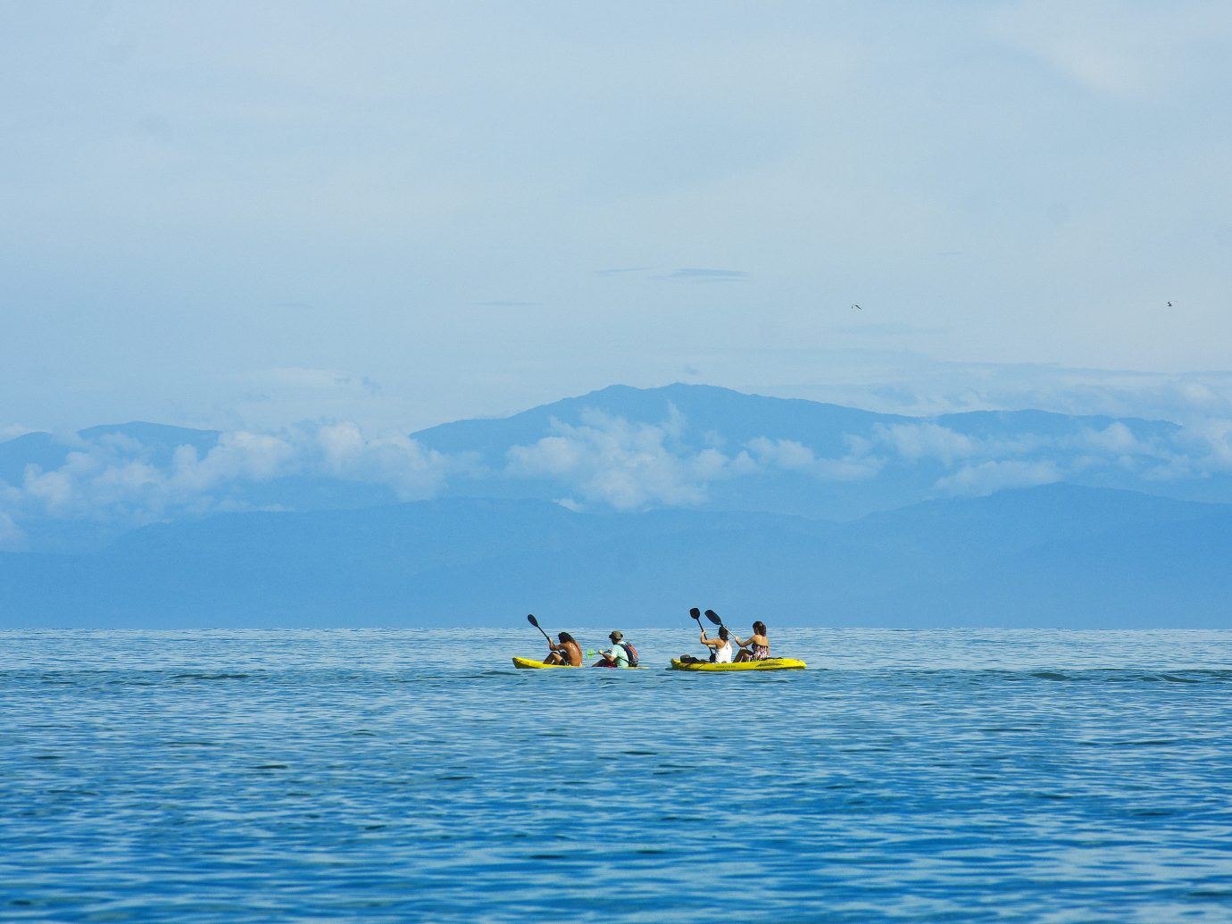 Kayaking at La Paloma Lodge in Costa Rica