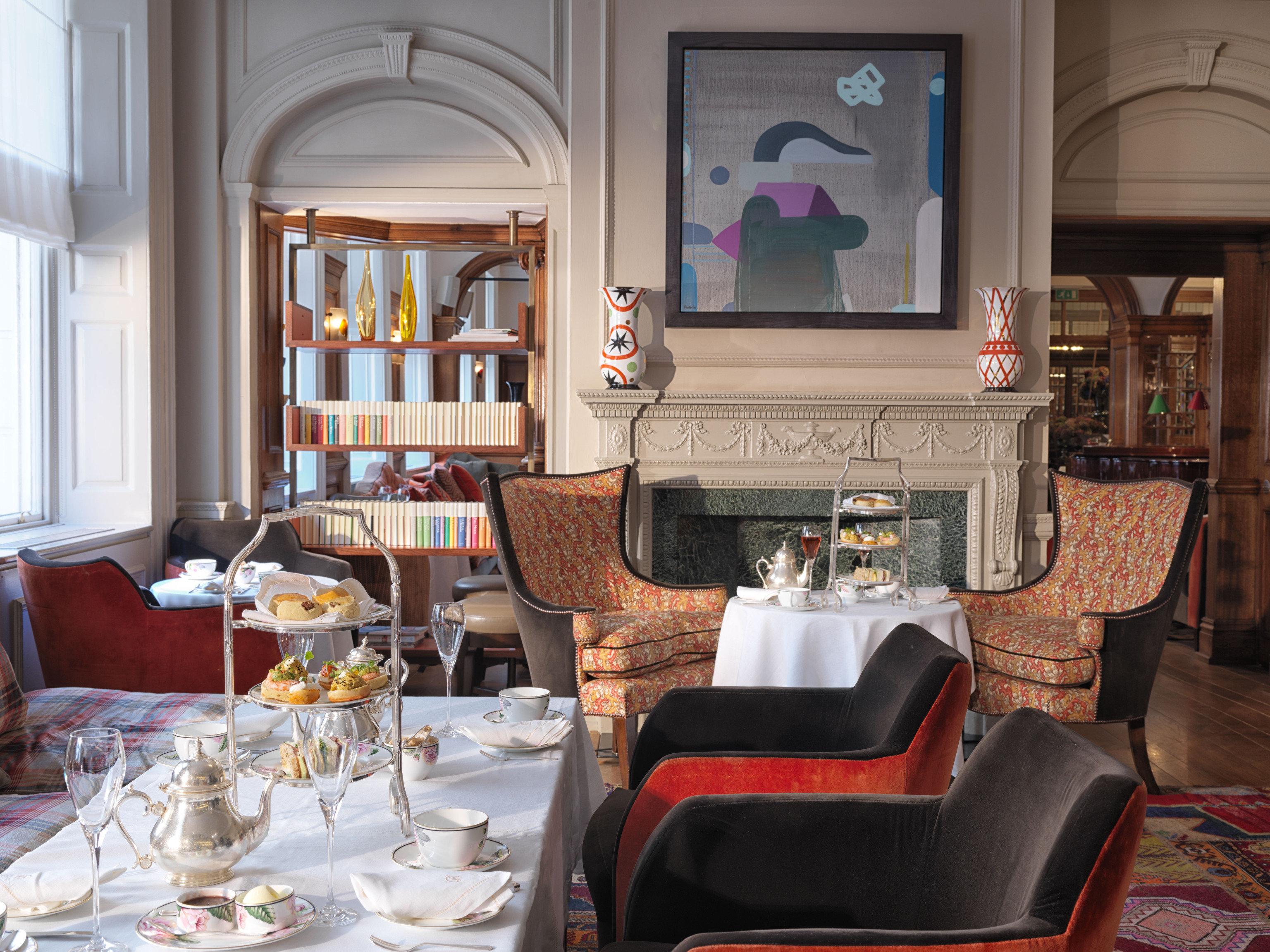 Food + Drink Hotels London Luxury Travel table indoor room window living room home dining room interior design estate Dining