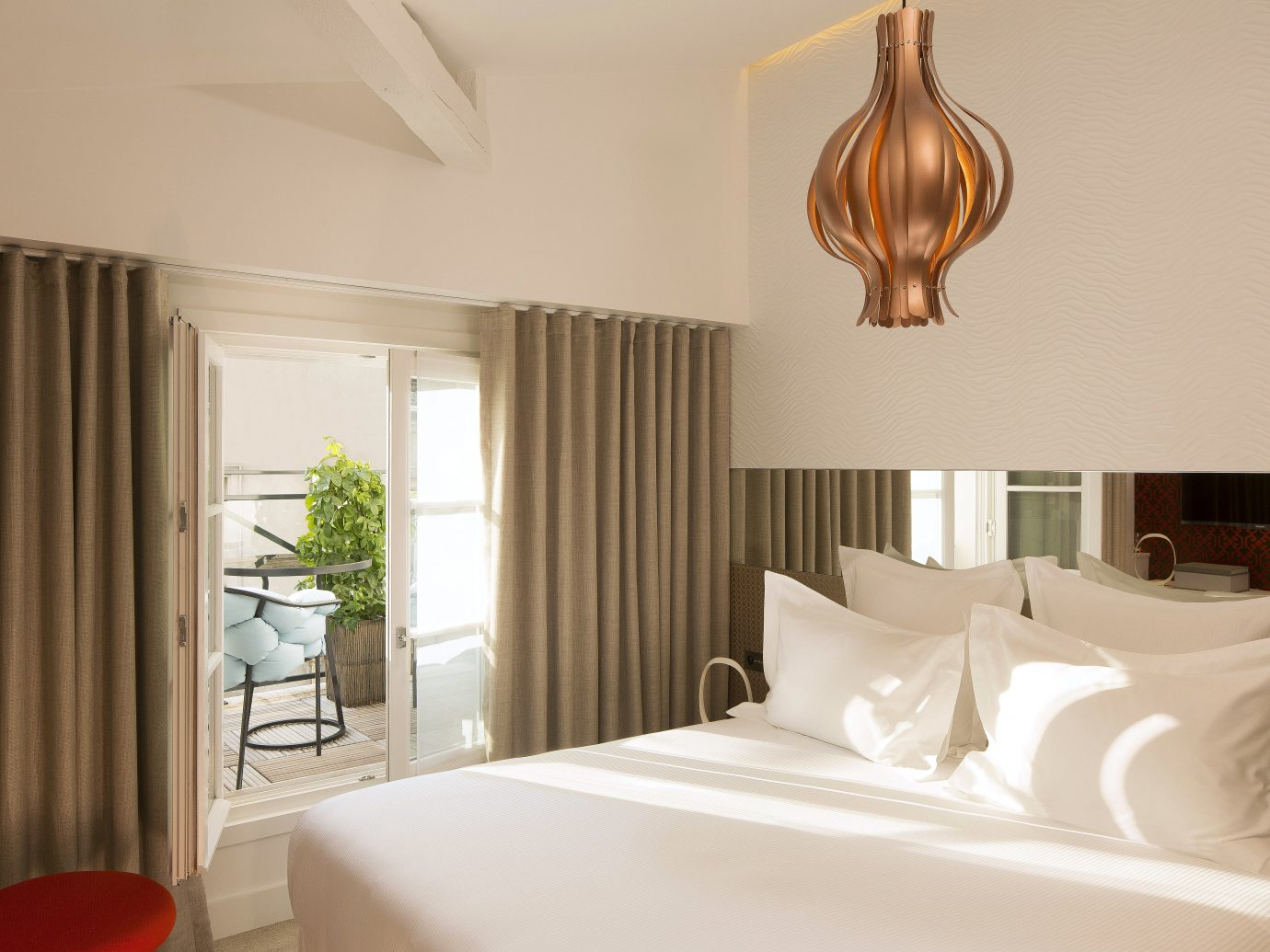 Balcony Bedroom Boutique City Design Elegant Historic Hotels Romance Trip Ideas indoor wall bed room property curtain hotel interior design Suite ceiling home floor estate real estate living room furniture decorated