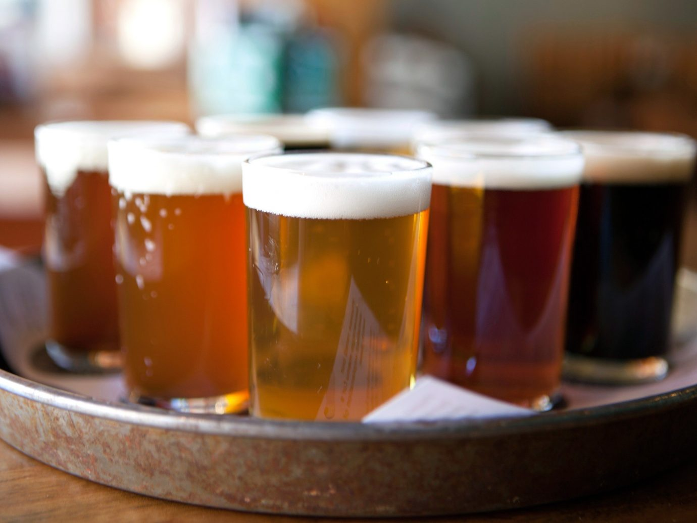 Trip Ideas cup table indoor beer Drink alcoholic beverage distilled beverage