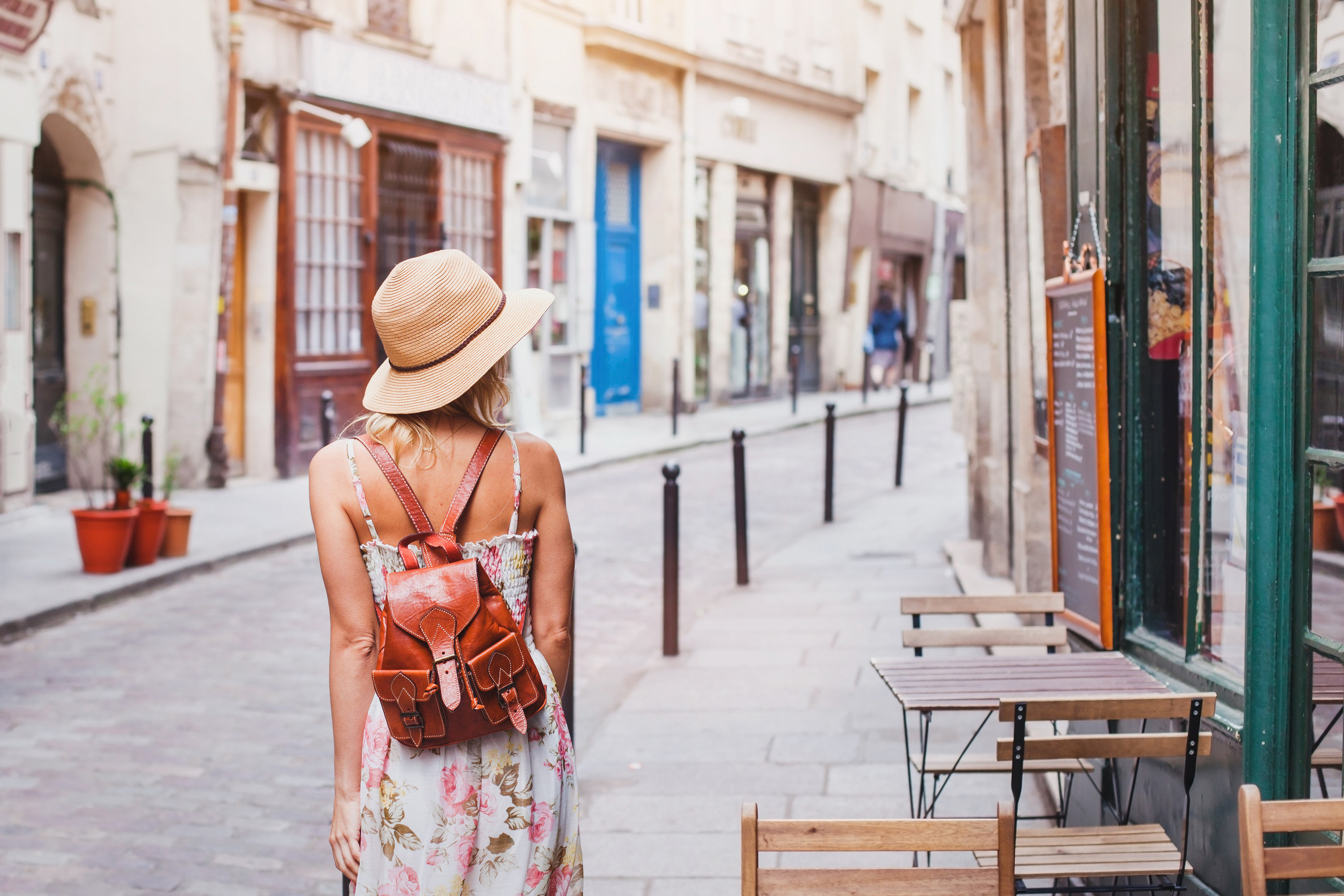 Hotels Style + Design Trip Ideas building outdoor ground person color photograph clothing road way street sidewalk spring season scene art infrastructure shopping
