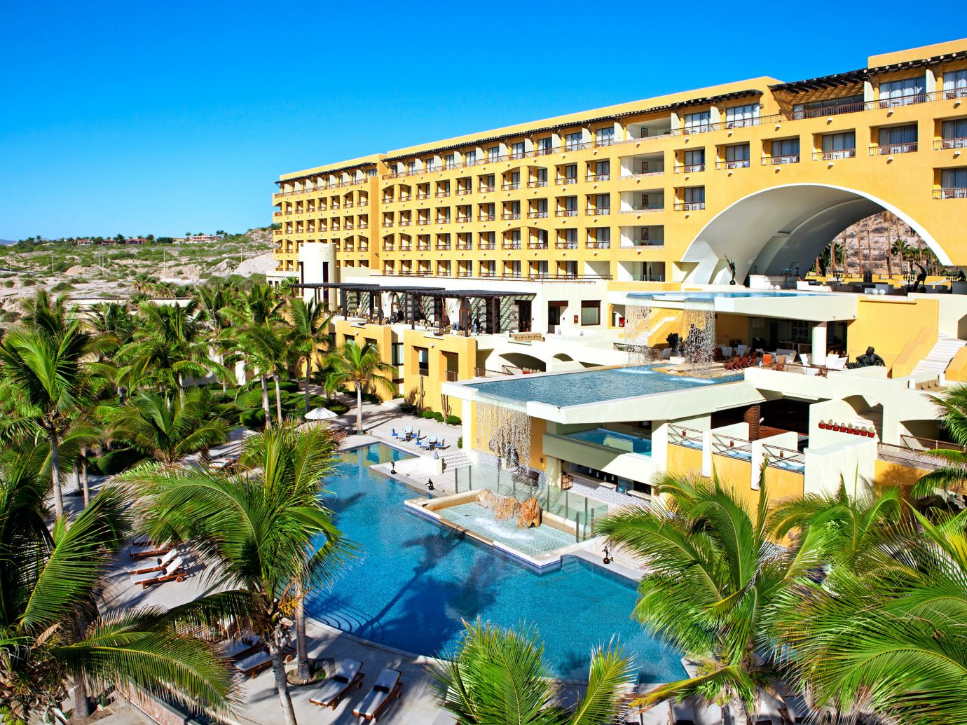 Exterior view of Marquis Los Cabos All-Inclusive Resort & Spa