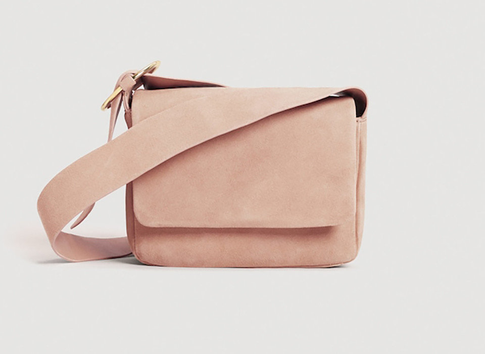 Style + Design Travel Shop bag shoulder bag indoor product handbag leather product design beige peach messenger bag accessory