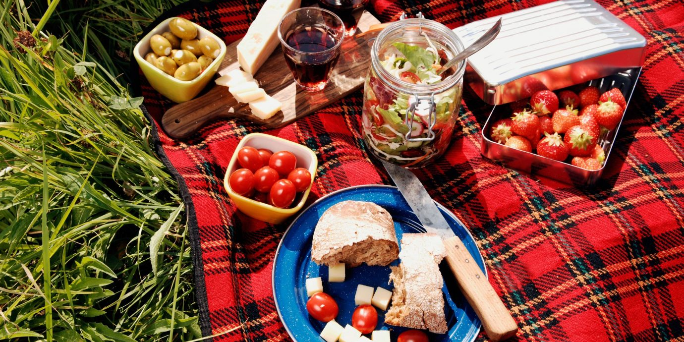 Outdoors + Adventure food dish meal Picnic Christmas