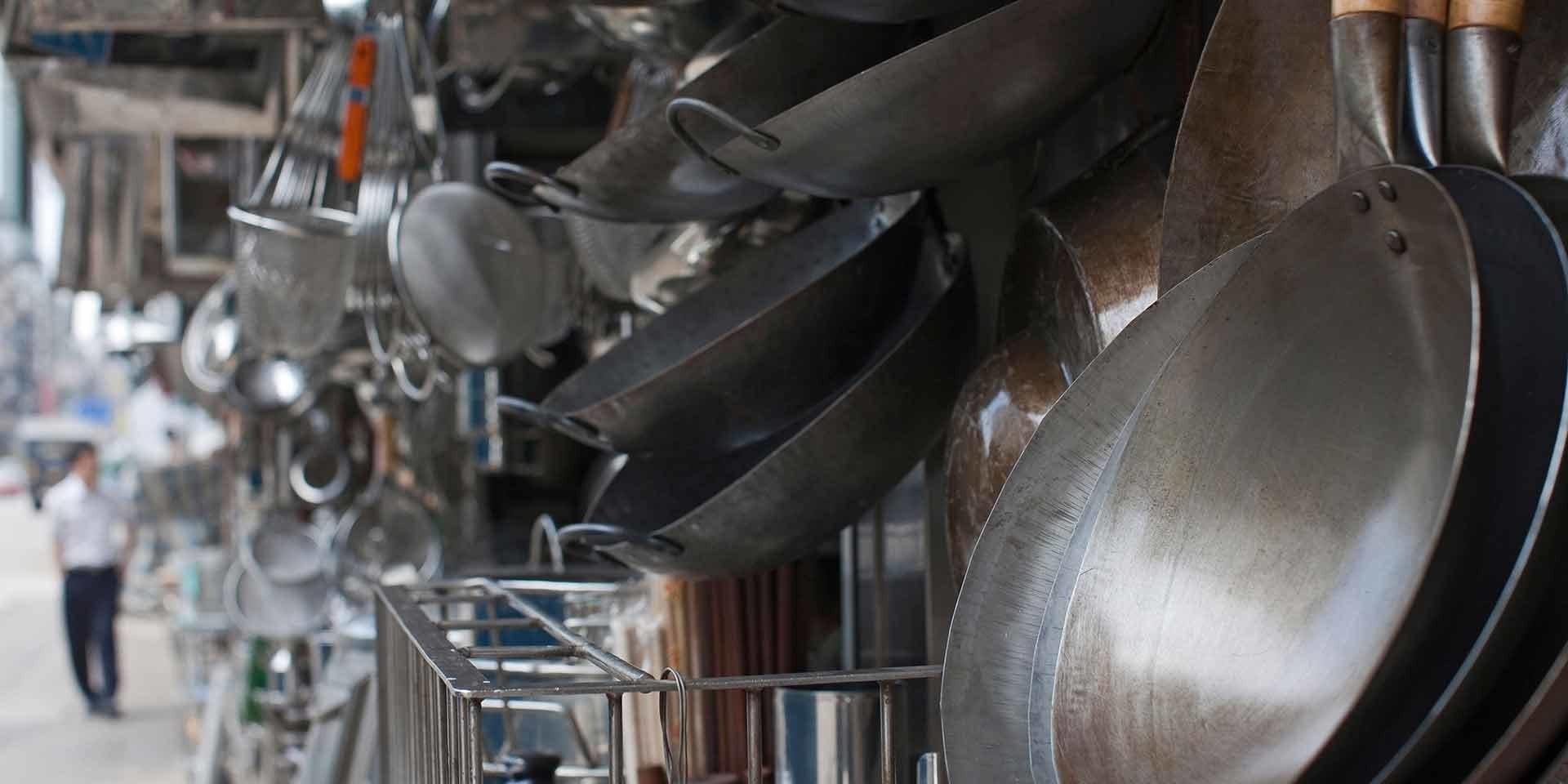 Secret Getaways Trip Ideas indoor metal silver pan