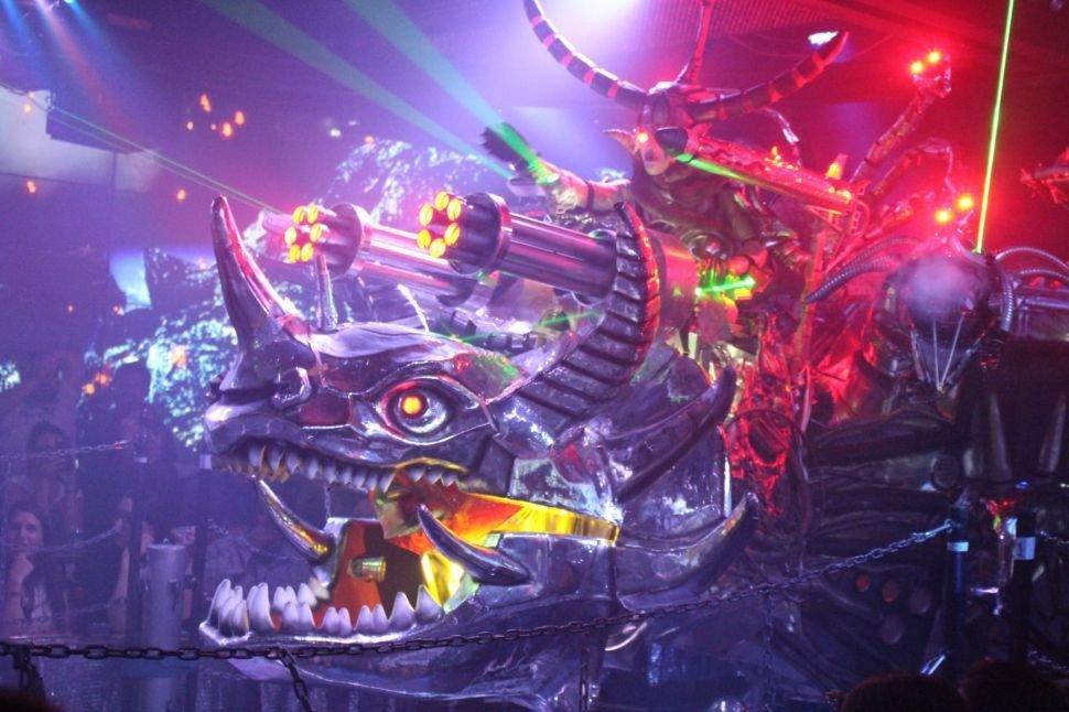 Offbeat indoor nightclub screenshot