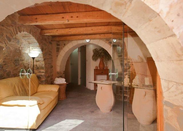 property arch building wooden hacienda cottage stone Villa