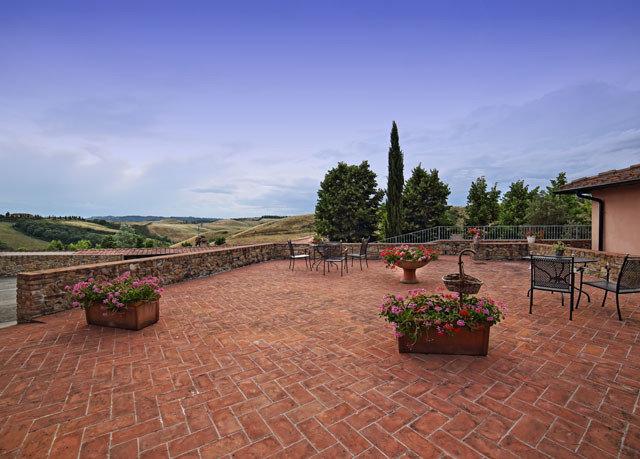 ground sky property brick landscape backyard hacienda outdoor structure Villa walkway stone