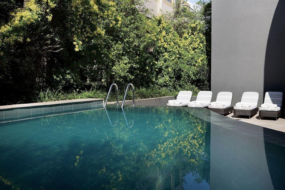 tree swimming pool property leisure backyard reflecting pool Villa condominium