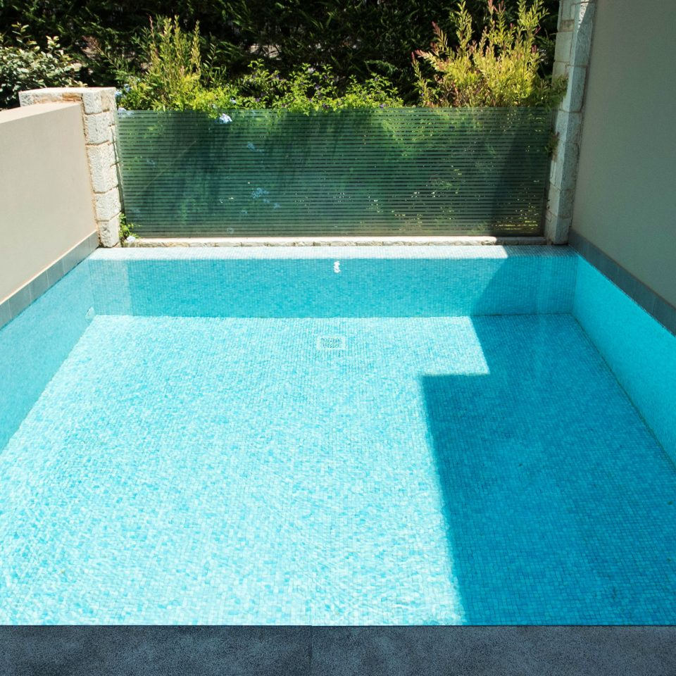 swimming pool property backyard flooring jacuzzi Villa