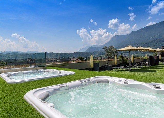 sky grass vessel mountain bathtub swimming pool property Villa